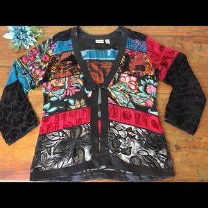 Jackets & Blazers - Chico's Mandarin Jacket